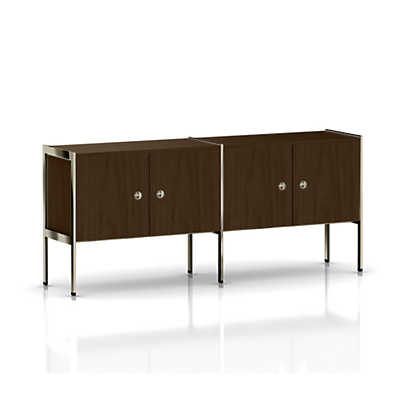Picture of Ward Bennett H Frame Credenza, 4 Doors