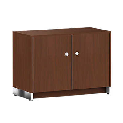 Picture of Ward Bennett Sled Base Credenza, 2 Doors