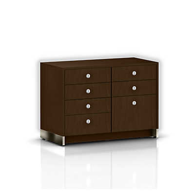 Picture of Sled Base Credenza, Four Drawers