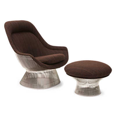 Picture of Platner Easy Chair and Ottoman