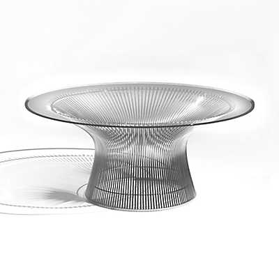 "Picture of 36"" Platner Coffee Table"