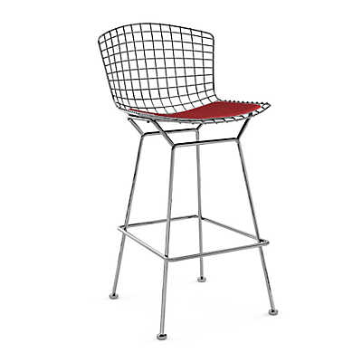 Picture of Bertoia Stool with Seat Pad