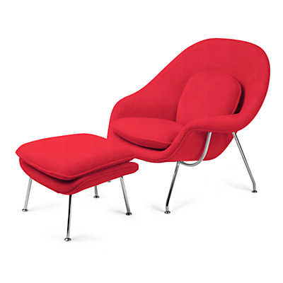 Picture of Womb Chair and Ottoman