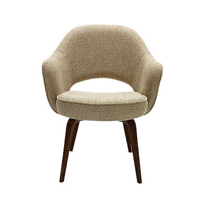 Picture of Saarinen Executive Armchair, Wood Legs