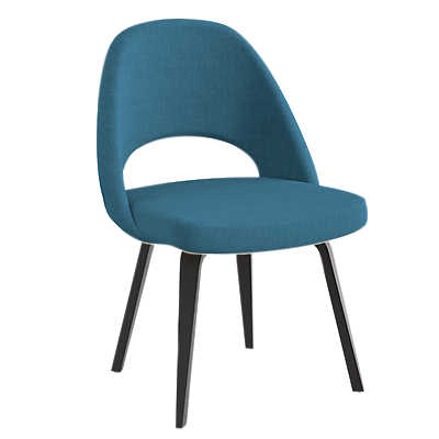 Picture of Saarinen Executive Armless Chair, Upholstered Back