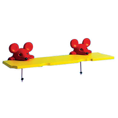 Picture of Mouse Wall Shelf, Double