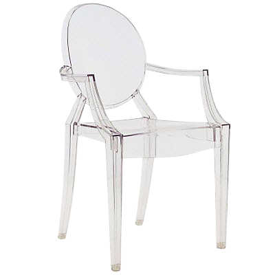 Picture of Louis Ghost Chair - Crystal
