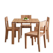 Picture of LAX Series Square Dining Table Set