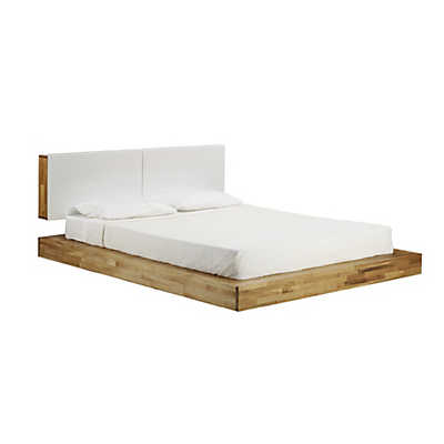 Picture of LAX Series Queen Platform Bed with Headboard