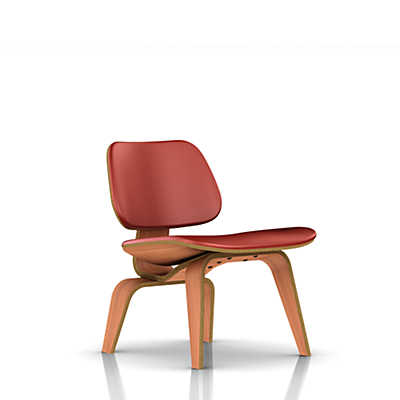 Picture of Herman Miller Eames Plywood Lounge Chair, Upholstered