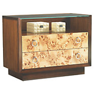Picture of Mirage Bergman Glass Top Nightstand