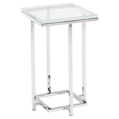 Picture of Mirage Stanwyck Glass Top Accent Table
