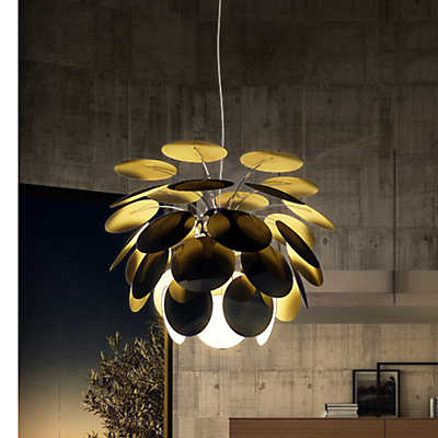 Picture of Discoco Suspended Lamp, Black Gold