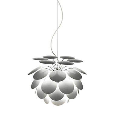 Picture of Discoco Suspended Lamp, White