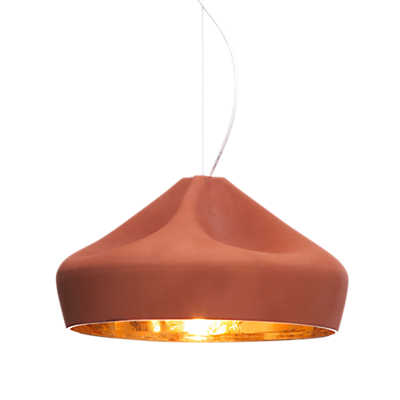 Picture of Pleat Box Suspended Light, Large