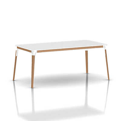 Picture of Magis Steelwood Rectangular Table