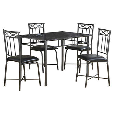 Picture of Grey Marble 5-Piece Dining Set