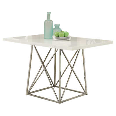 Picture of White Glossy Dining Table