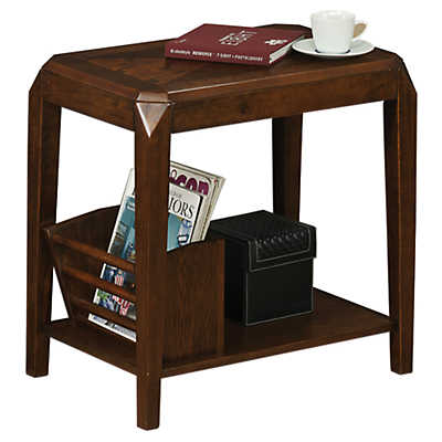Picture of Brown Oak Magazine Table