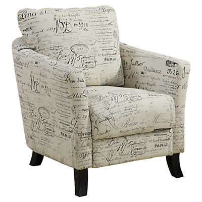 Picture of Vintage French Fabric Accent Chair