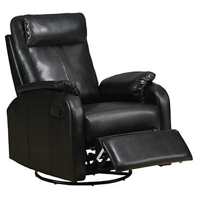 Picture of Bonded Leather Swivel Rocker Recliner