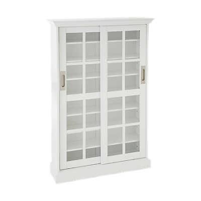 Picture of Bergman Media Cabinet in White
