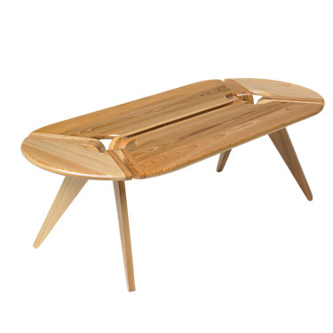 The New Breed Oval Coffee Table