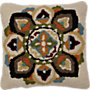 Picture of Hooked Floral Decorative Pillow