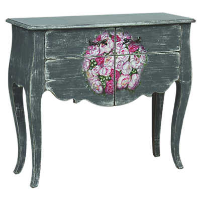 Picture of Florentin 2-Door Floral Console