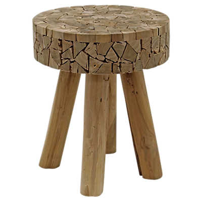 Picture of Teak Chips Stool