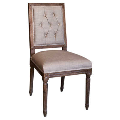 Picture of Weathered French Dining Chair ES 3A, Set of 2