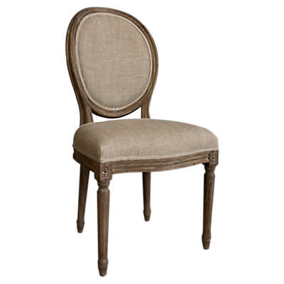 Picture of Weathered French Round Back Chair, Set of 2