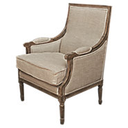 Picture of Weathered French Arm Chair