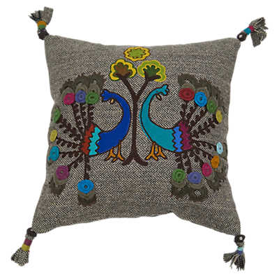 Picture of Peacock Decorative Pillow
