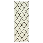 Picture of nuLOOM Trellis Shag Runner, 8 foot