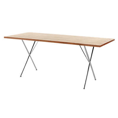 "Picture of Nelson X-Leg Table, 36"" x 84"" Veneer Top"