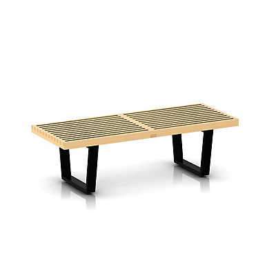 "Picture of Herman Miller Nelson Platform Bench, 48"" Wide"