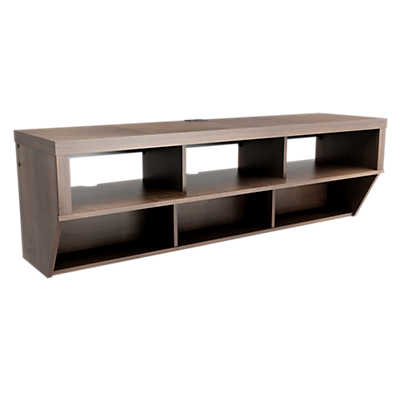 "Picture of 58"" Wide Wall Mounted Entertainment Console"