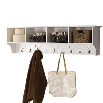 "Picture of Entryway 60"" Cubbie Shelf"