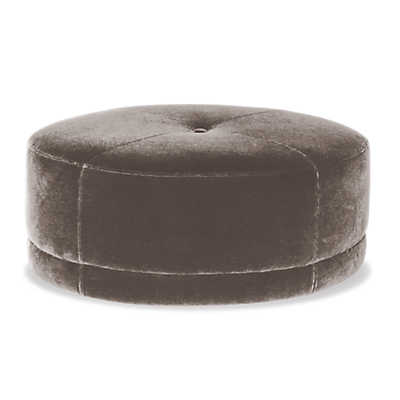 Picture of Oswald Oval Ottoman with Casters