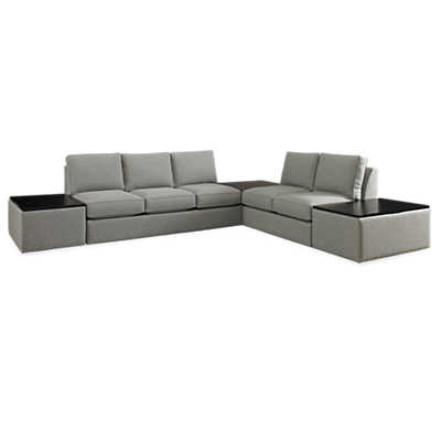 Picture of Kingsley Sectional and Ottoman Set