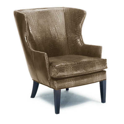 Picture of Fairgate Leather Wing Chair