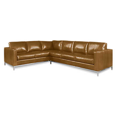 Picture of Bradock Leather Sectional Sofa