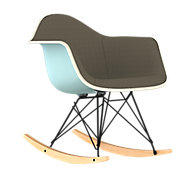 Picture of Eames Upholstered Molded Plastic Rocker