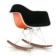 Picture of Eames Upholstered Molded Fiberglass Rocker
