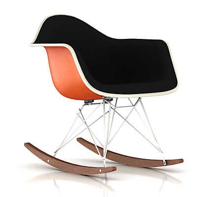 Picture of Eames Upholstered Molded Fiberglass Rocker