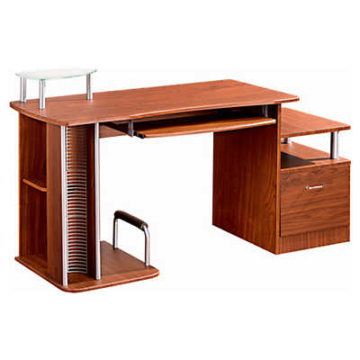 Picture of Compact Computer Workstation with Storage