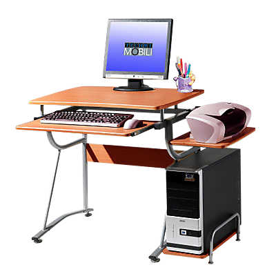 Picture of Computer Stand with Keyboard Tray
