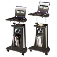 Picture of Height-Adjustable Laptop Stand with Storage Base