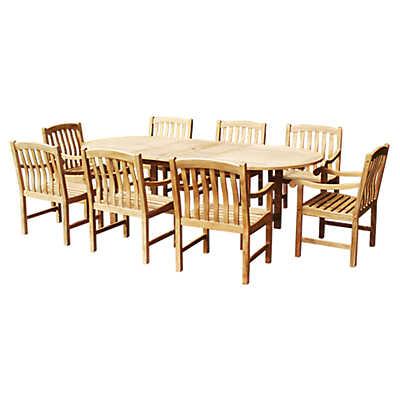 Picture of Buiten Outdoor Nine Piece Dining Set